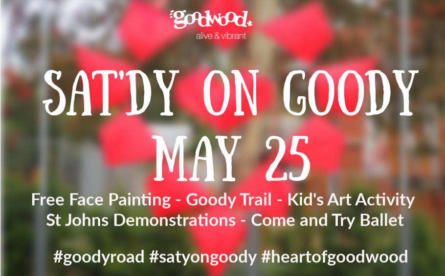 Sat'dy On Goody Day 25 May 2019